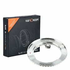K&F Concept Adapter for Praktica PB Mount Lens to Canon EOS EF 700D 60D 6D 5D