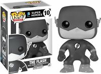 The Flash Black White Exclusiv DC Comics Super POP! Heroes #06 Vinyl Figur Funko