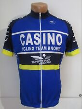 Casino Cycling Team Knokke Shirt Jersey Maillot Maglia Trikot Vermarc Size S Men