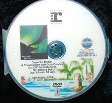 DEPECHE MODE EXCITER Electronic Press Kit Record Company Promo EPK DVD (NOT CD)