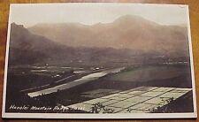 1920's Hanalei Mountain Range Kauai TH Hawaii AZO RPPC