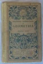 LECCIONES ELEMENTALES DE GEOMETRÍA - 2º GRADO - ED. BRUÑO - VER INDICE