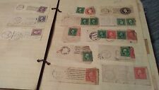 WASHINGTON-FRANKLIN STAMPS ON PIECE COLLECTION aprox 400 stamps on piece  $300