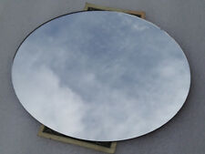 "2 pcs. 6.7"" x 5.7"" Oval Mirror 0.050"" thick Second Surface"