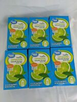 Great Value Drink Mix 6 Pack Tropical Limeade Expires 07/29/2022