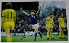 JOHN WARK IPSWICH TOWN PERSONALLY HAND SIGNED 12X8 AUTOGRAPH PHOTO