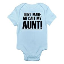 Dont Make Me Call My Aunt Baby Blue Romper Clothing For Boys