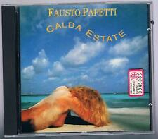 FAUSTO PAPETTI  CALDA ESTATE  CD