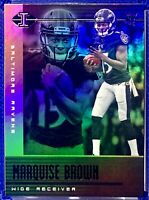MARQUISE BROWN 2019 PANINI ILLUSIONS JERSEY #15 NON PRIZM /AUTO ROOKIE REFRACTOR