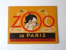 ZOO de Paris en Relief 3D Editions Les anaglyphes 3D images book Zoo of Paris #2