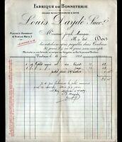"""TOULOUSE (31) USINE de BONNETERIE """"FONSAGRIVES / Louis DAYDE Succ"""" en 1911"""