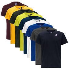 T-shirt K-way Le Vrai Eduard Regular girocollo maglia maniche corte 100% Cotone