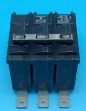 Circuit Breaker Siemens B380 80 Amp 3 Pole 240V 10kA Bolt On