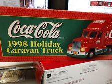 Coca Cola 1998 Holiday Caravan Truck Battery Operated Lights