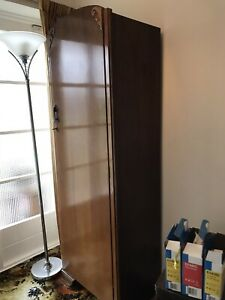 single door wardrobe used