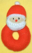KNITTING PATTERN - Santa 15 cms Baby Toy - Great for Christmas and charity