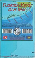 Florida Keys Dive Map Waterproof Map by Frank Nielsen