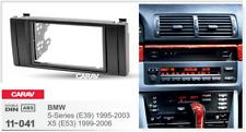 Car Stereo Radio Fascia Panel 2 Din Frame Kit for BMW 5-Series (E39);X5 (E53)