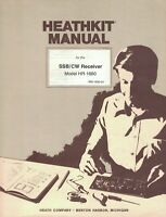 Original 1976 Heathkit Manual for the SSB/CW Receiver Model HR-1680