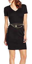 Versace Jeans women's black dress size 44 IT (12UK)
