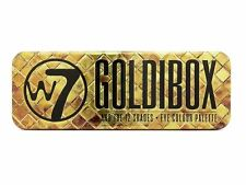 W7 Goldibox 12 Shades Eye Colour Palette - Gift Make Up Eya Shadow Set