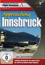 Approaching Innsbruck Flight Simulator X & 2004 AddOn Flugsimulator   PC