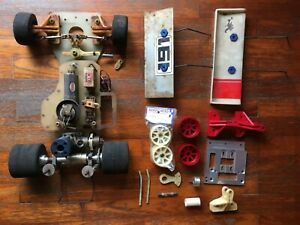 Used Vintage Team Associated RC250 BD 1/8 Nitro onroad chassis parts RC300 picco