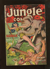 JUNGLE COMICS #151 (6.5) GREAT GOOD GIRL COVER