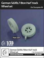D-Toys #35-011 1/35 German SdKfz.7 8ton Half-Track Wheels for Trumpeter kit