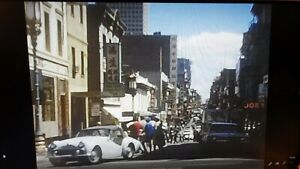 Rare Vintage 8mm Home Movie Film Reel San Francisco California Vacation Trip  Z1