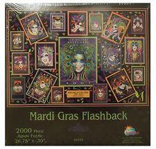 SunsOut-Mardi Gras 2000 Pieza cartel serie Jigsaw Puzzle-Nuevo y Sellado