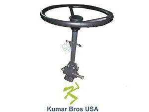 New Kubota Tractor Steering Box Assy with  Steering Wheel B6100 B7100 (NON HST)