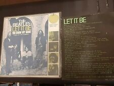"""THE BEATLES  7"""" 45 LET IT BE /LOOK UP THE NUMBER APPLE ITALY 1970 CON TRADUZIONE"""