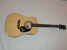 BLONDIE CHAPLIN SIGNED NATURAL ACOUSTIC GUITAR THE BEACH BOYS ROLLING STONES