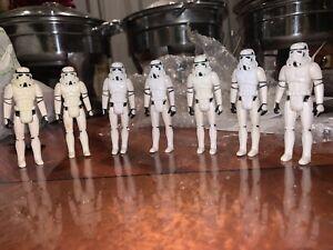 Vintage STAR WARS Lot Of (7)1977 Stormtroopers  Very Good Shape Last Ones