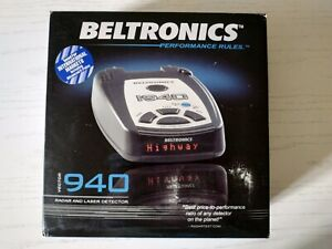 Beltronics INTL 940i vector Radar Detector international version USED
