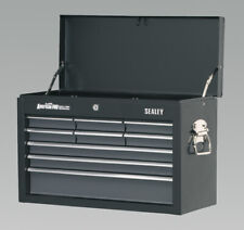 AP 2509 B Sealey Topchest 9 Drawer With Ball Bearing Runners Black Grey