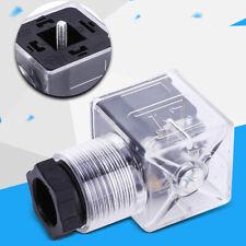 5Pcs Hydraulic Solenoid Plug Valve Connector Waterproof Plug w/ AC 110-220V