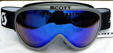 NEW $90 Scott Storm OTG Mens Adult winter goggles fit over glasses Smith Gray