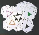 Original Series Battlestar Galactica Pyramid 55 Card Game Deck w Instructions