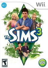 The Sims 3 [Nintendo Wii, NTSC, Fun Life Simulation Video Game] NEW