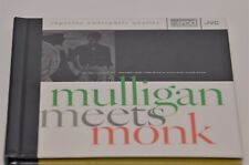 Mulligan Meets Monk -JVC XRCD RARE Audiophile CD-THELONIOUS MONK/GERRY MULLIGAN