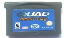 Gameboy Advance Game Plays on GBA SP DS DSL ~  QUAD DESERT FURY ~ 4 Wheeling Fun