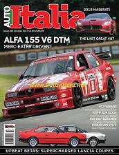 Auto italia Magazine issue 260 Alfa 155 DTM Lancia Beta Alfa Giulia Ferrari 70th