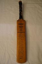 Cricket - Miniature Gradidge Bat - Australian 1956 Team - Repro. Signatures.