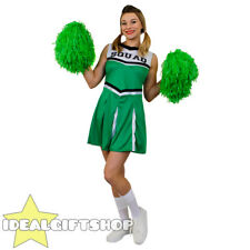 I Love Fancy Dress Ilfd4058 Ladies Cheerleader Costume With Squad