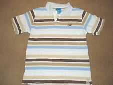 """Boy's, """"WCKD, AUTHENTIC COLLECTION, POLO SHIRT, size Large, striped short sleeve"""