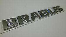 Brabus chrome style badge Mercedes Benz C E CLK SLK ML AMG 220 250 350 CDI C63