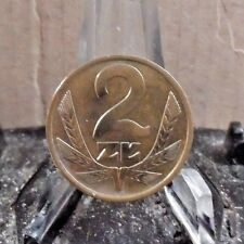 CIRCULATED 1976 2 ZT POLISH COIN (3217))1.....FREE SHIPPING!!!!!