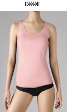 WOLFORD PURE TOP Tank in Sweet Rose Lt.Pink Size:L  Ret: $120 New Boxed & w/Tags